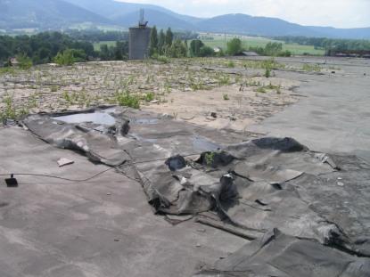 Tepelná izolace plochých střech
