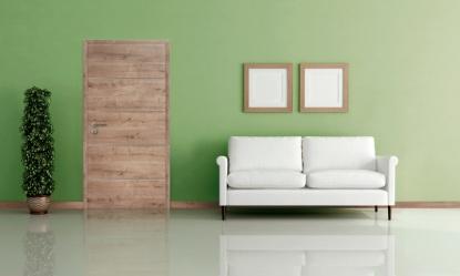 Dveře bez rušivých detailů pro dokonalý interiér