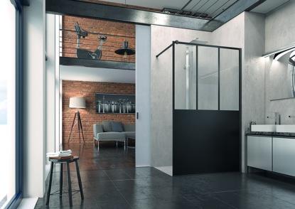 Sen architektů i obyvatel loftů - sprchová zástěna Easy LOFT od společnosti SanSwiss