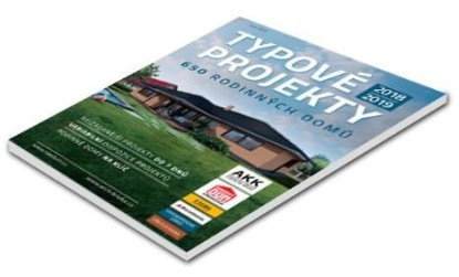 Vychází nový katalog rodinných domů NÁŠ DŮM s typovými projekty 2018 - 2019