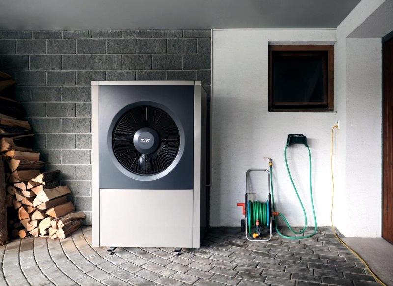 Tepelné čerpadlo IVT AIR X kromě topení i chladí