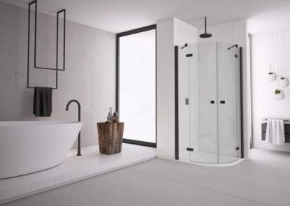 Sprchové zástěny BLACK LINE - dokonalá kombinace minimalismu a plnohodnotné funkčnosti