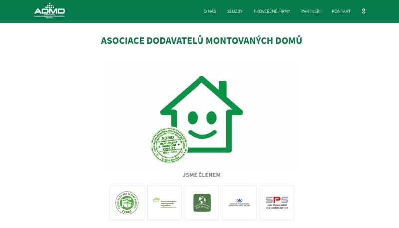 ADMD má nové moderní webové stránky