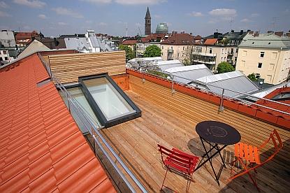 Pohodlný přístup na střechu zajistí střešní dveře