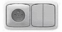 Sestava řady Tango® v barvě šedé určená na hořlavé podklady