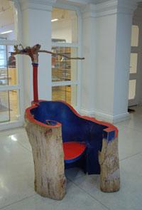 F.Skála: Křeslo mistra - Foto: Moravská galerie