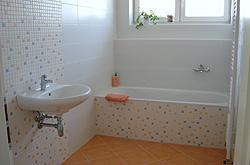 Jeden z typů standardního vybavení koupelny