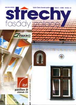 Střechy, Fasády, Izolace 4/2006