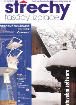 Střechy, Fasády, Izolace 12/2006