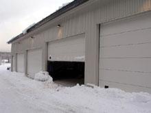 Hala ke garážování sněžných roleb, Harrachov