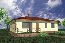 MODARO - vzorový dům Savana