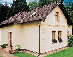 Produkty Rigips slouží např. k vnějšímu zateplení domů