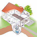 Vnitřní provedení čerpadla vzduch/voda. Zdroj: Stiebel Eltron