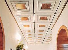 Plastové stropní podhledy