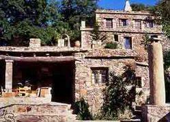 Krétská horská vesnička Milia