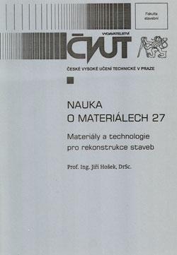 Nauka o materiálech 27
