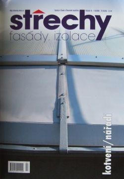 Střechy, Fasády, Izolace 7-8/2008