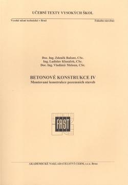Betonové konstrukce IV.
