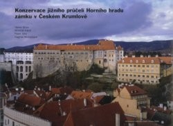 Konzervace jižního průčelí Horního hradu zámku v Českém Krumlově