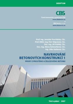 Navrhování betonových konstrukcí 1. 3. vydání