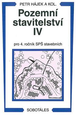 Pozemní stavitelství IV pro 4. ročník SPŠ stavební