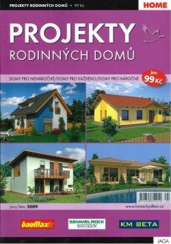Projekty rodinných domů  jaro/léto 2009