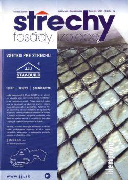 Střechy, Fasády, Izolace 6/2007