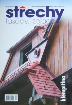 Střechy, Fasády, Izolace 6/2008