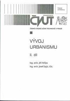 Vývoj urbanismu II. díl