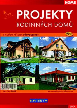 Projekty rodinných domů JARO / LÉTO 2005