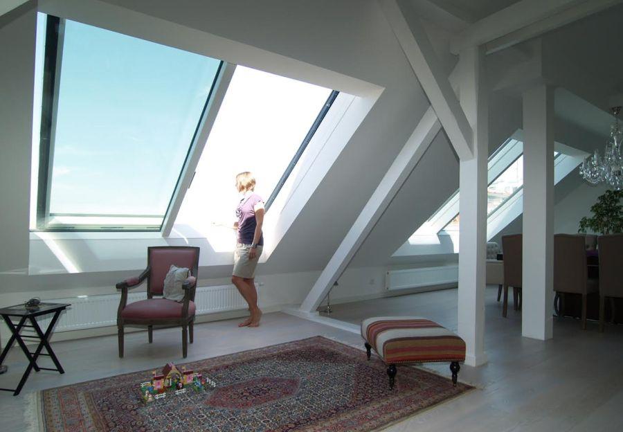Dvojdílné posuvné střešní okno Solara PERSPEKTIV