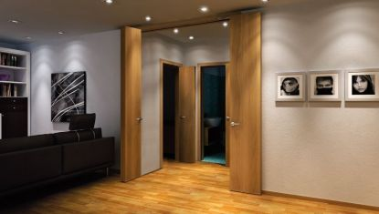 Jak na úsporu místa: Speciální dveřní systémy