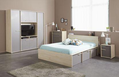 Moderní, kvalitní a levná ložnice? Francouzský výrobce ví, jak na to