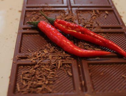 Čokoládový chilli chlebíček