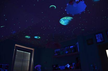 Hvězdné nebe pro snadnější usínání