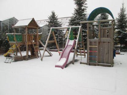 Jak připravit dětské hřiště Jungle Gym na zimu
