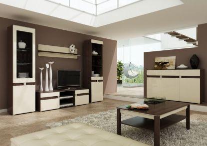 Obývací stěny: Vybíráme správný tvar a rozmístění