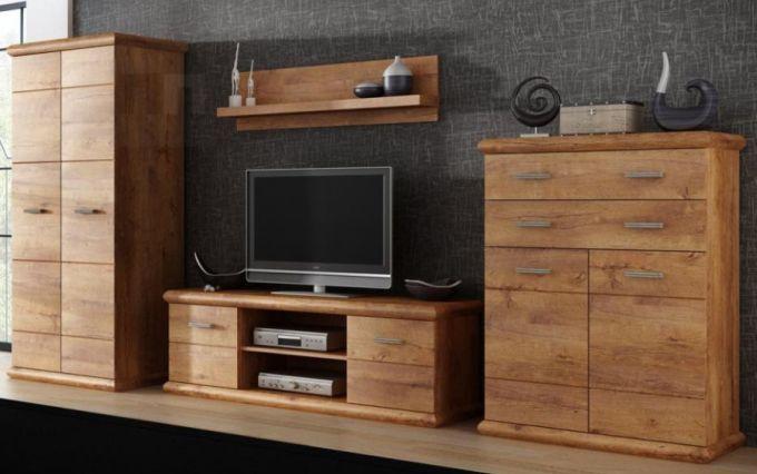 Velké úložné prostory obývací sestavy