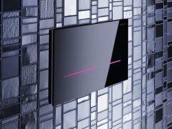 Tlačítko splachování Sigma80 umožňuje zvolit si barvu podsvícení podle momentální nálady.