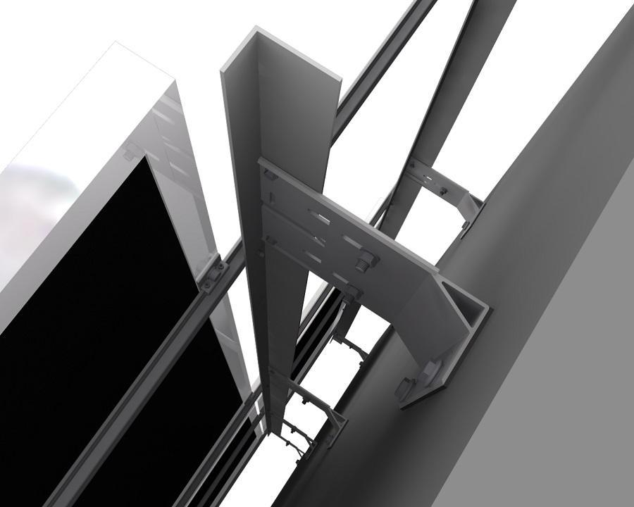 Nosný rošt provětrávané fasády