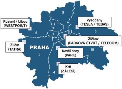 CENTRAL GROUP připravuje v Praze nové městské čtvrti, podívejte se kde