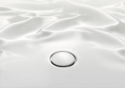 Plochá sprchová vanička Geberit Setaplano. Jemnánadotek