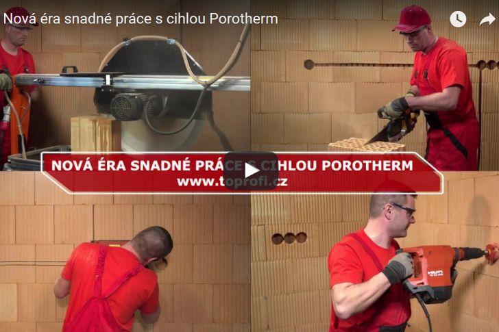 Překvapivě snadná a rychlá stavba domu s cihlami Porotherm