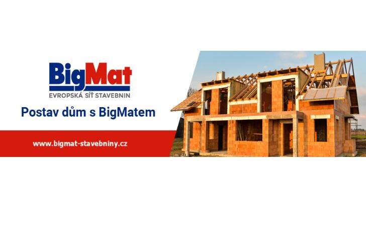 S BigMatem postavíte a ušetříte až50000Kč
