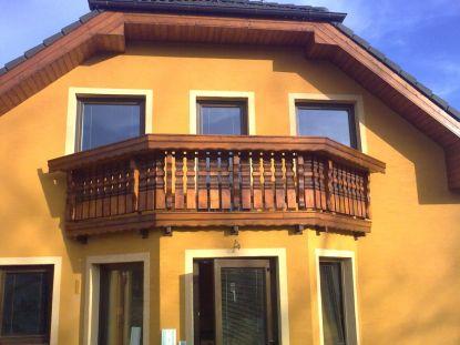 Balkon jako ozdoba domu