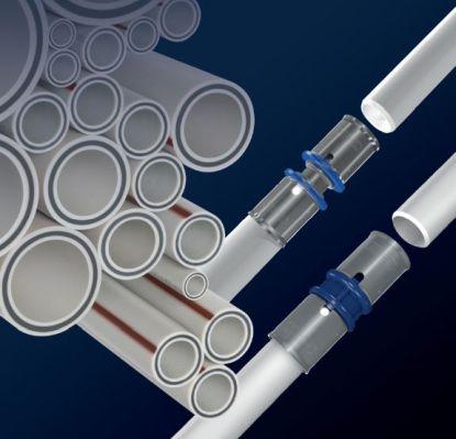 Rozvody ústředního a podlahového vytápění úsporně v plastu