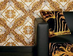 Oslňující krása luxusních tapet Versace