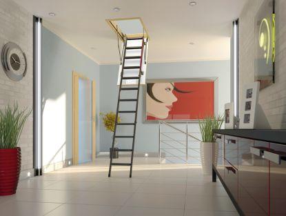FAKRO - komplexní nabídka půdních schodů