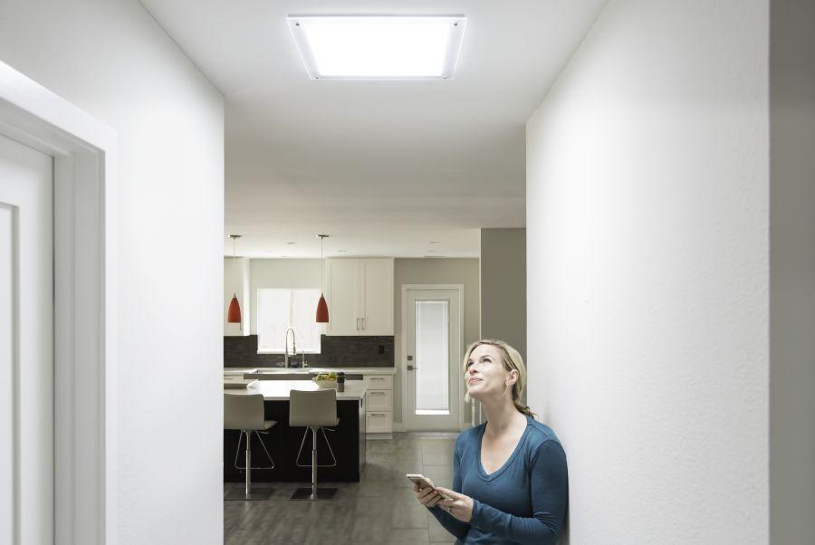 Světlovod může zcela proměnit vnímání prostoru