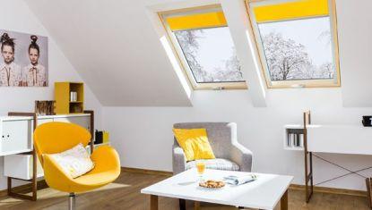Energeticky úsporná okna a půdní schody FAKRO
